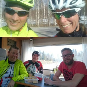 The grand opening for the year, at home, outside. And what a tour! We had, unexpectedly, our own aid station in Runsvik - many thanks to Hans-Åke and Kristoffer (photographer)! A sunshine and happiness ride 🚲 #alnöraceteam #road #triathlon #sportson #coffeeandbuns #happy #lifeisgood Källa: Instagram