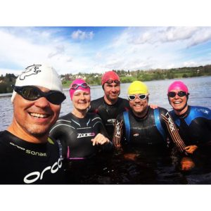 Second OW-swim for the year at home. 13.1 C -  Hot as we are 😉 #lovetri #liv #alnöraceteam #openwater #triathlon #greattimewithgreatfriends Källa: Instagram